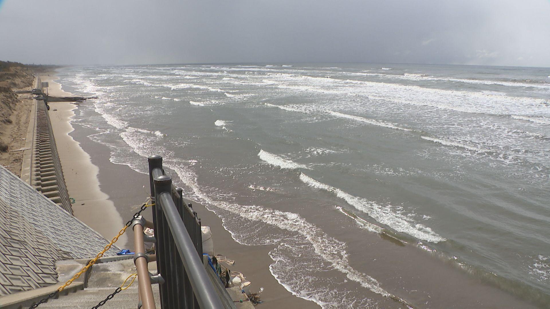 砂浜浸食の千里浜 地元自治体が石川県に対策求める