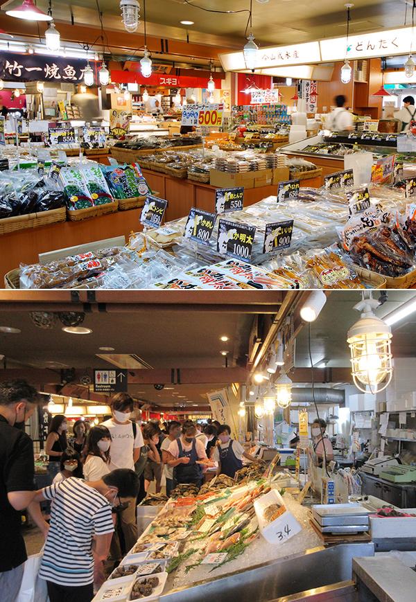 七尾フィッシャーマンズ・ワーフ</br>能登食祭市場</br>道の駅 能登食祭市場