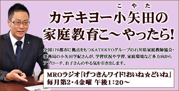 カテキョー小矢田の家庭教育こ~やったら!